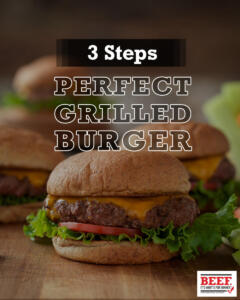 Perfect Burger Steps Carousel Cover Black Text